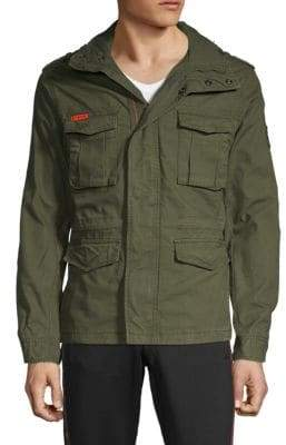 Superdry Full-Zip Military Jacket