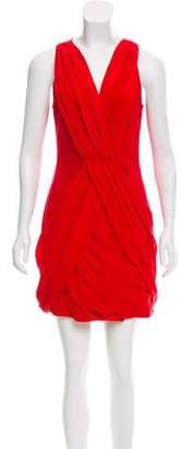 Cynthia Steffe Sleeveless V-Neck Mini Dress