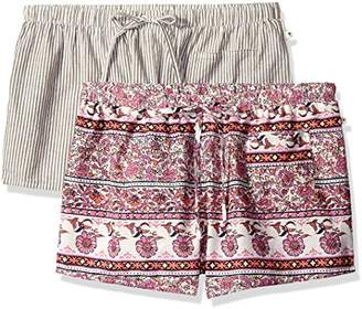 Lucky Brand Women's Exclusive 2 Pc Boxer Set