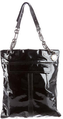 Lanvin Patent Leather Tote $315 thestylecure.com