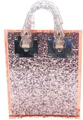 Sophie Hulme Mini Glitter Acrylic Albion Bag