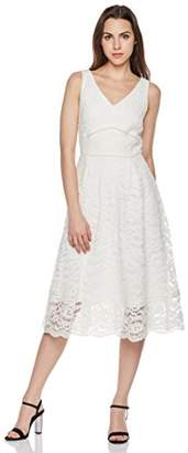 Suite Alice Women's Sleeveless V Neck Lace Dress