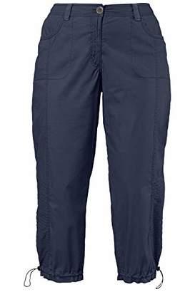 Ulla Popken Women's Cargohose 7/8 Trouser,(Size: 52)