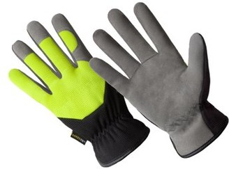 Hands On HD0002-XL, Multi-Purpose High Dexterity Washable Synthetic Suede Leather Glove