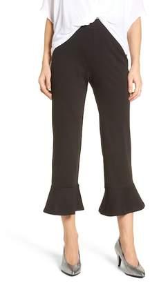 BP Crop Ruffle Hem Pants