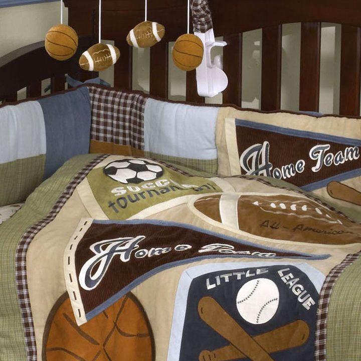 CoCalo baby sports fan crib bumper