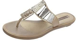 grendha Allure Thong Womens Flip Flops / Sandals - Snake - SIZE US