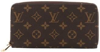 Louis Vuitton Zippy Cloth Wallet