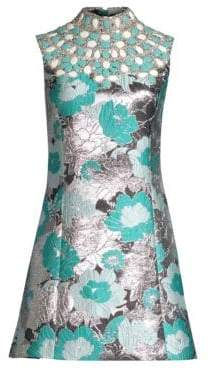 Michael Kors Embroidered Shift Dress