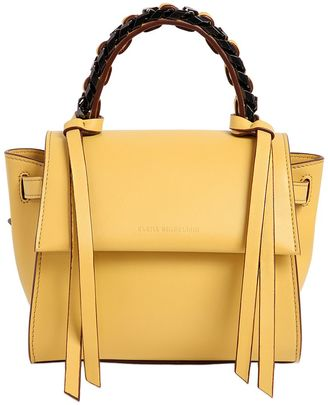 Mini Angel Leather Top Handle Bag $895 thestylecure.com