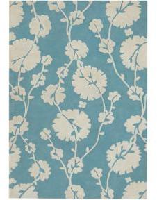 Amy Butler Georgia Rug - Blue