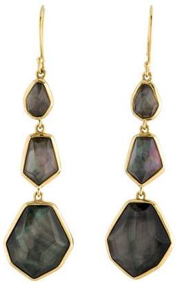 Ippolita 18K Quartz Doublet Modern Rock Candy Drop Earrings