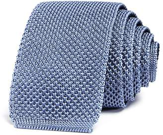 Theory Solid Knit Skinny Tie