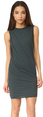 James Perse Tucked Shift Dress $195 thestylecure.com