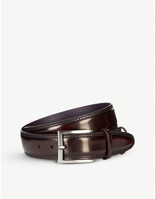 Elliot Rhodes Cordovan welt leather belt