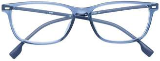 HUGO BOSS classic square glasses