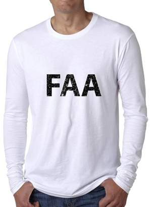 Hollywood Thread FAA - Large Font Graphic Design Men's Long Sleeve T-Shirt