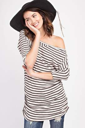 Easel Striped Top