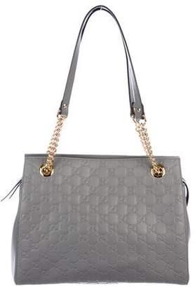 Gucci Guccissima Signature Shoulder Bag