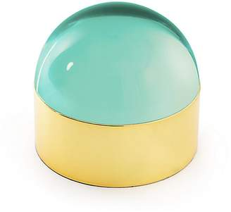 Jonathan Adler Globo Polished Brass Box