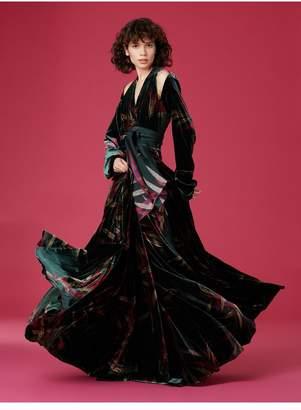 Diane von Furstenberg Cut-Out Wrap Dress