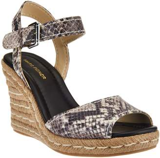 Marc Fisher Peep-toe Espadrille Wedges - Maiseey