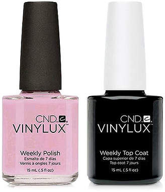 CND Creative Nail Design Vinylux Cake Pop Nail Polish & Top Coat (Two Items), 0.5-oz, from Purebeauty Salon & Spa
