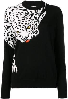 Krizia jacquard logo sweater