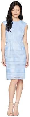 Tahari ASL Petite Cap Sleeve Lace Sheath Dress Women's Dress
