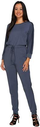 Halston H By H by Regular Jet Set Jersey Long Sleeve Knit Jumpsuit