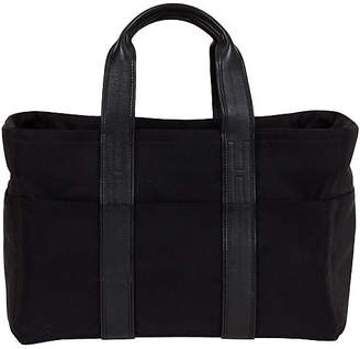 One Kings Lane Vintage Large Hermès Leather & Nylon Handbag