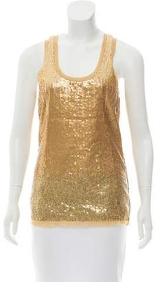 Tory Burch Sleeveless Embellished Top w/ Tags