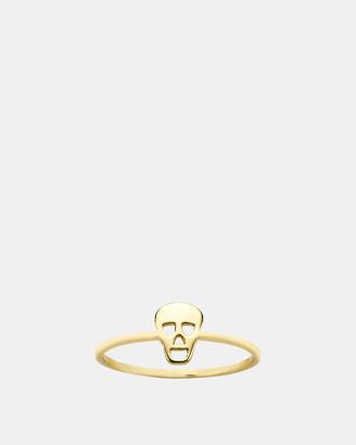 Karen Walker Mini Skull Ring