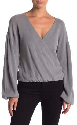 Abound Wrap Front Sweater
