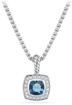 David Yurman Petite Albion® Pendant Necklace With Black Orchid And