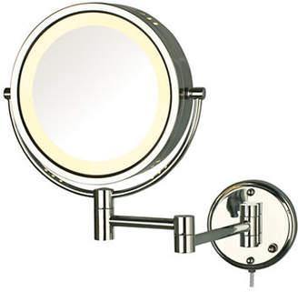 JERDON 8X Magnifying Wall Mount Mirror