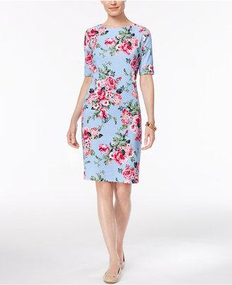 Karen Scott Print T-Shirt Dress, Only at Macy's $44.50 thestylecure.com