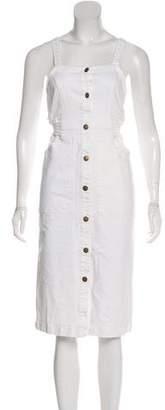 Apiece Apart Sleeveless Midi Dress