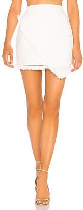 by the way. Savana Frayed Hem Skirt