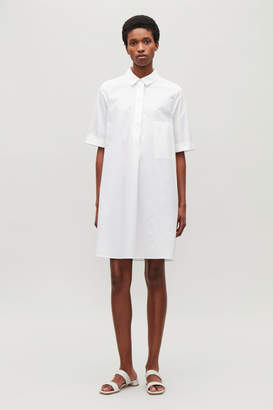 Cos A-LINE POPLIN SHIRT DRESS