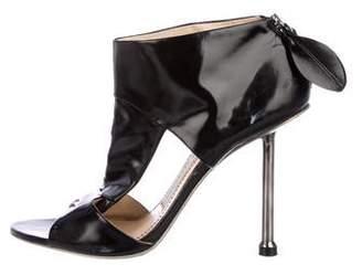 Camilla Skovgaard Leather Peep-Toe Pumps