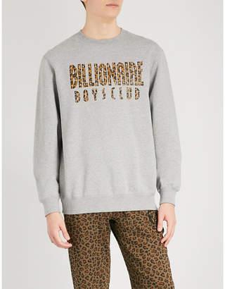 Billionaire Boys Club Reversible cotton-jersey sweatshirt