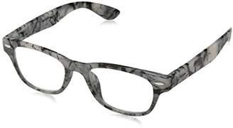 A. J. Morgan A.J. Morgan Unisex-Adult Wanzhou - Power 2.00 54250 Rectangular Reading Glasses