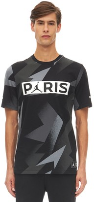 Nike Psg Ss Jock Tag Cotton Jersey T-shirt