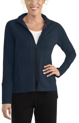 Fruit of the Loom Seek No Further by Women's Two Way Zip Track Jacket, Available in Sizes up to 2XL