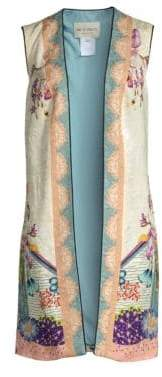 Etro Garden of Eden Long Vest