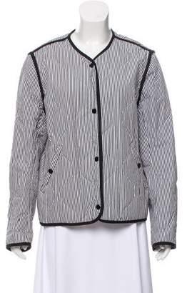 Rag & Bone Stripe Quilted Jacket