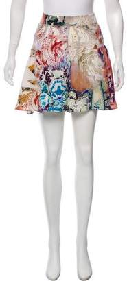 Etro Silk Printed Shorts