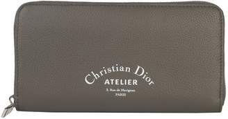Christian Dior Zip Around Wallet