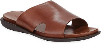 Kenneth Cole Men's Sandy Beach Leather Slide Sandals